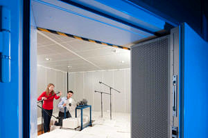 Messung im Akustikraum
